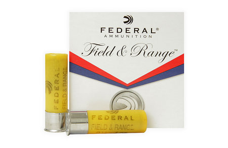 FEDERAL AMMUNITION 20 GA FIELD AND RANGE 2 3/4 1OZ 8 SHOT 25/BOX