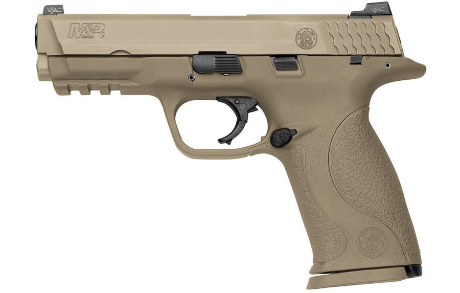Smith & Wesson MP9 VTAC 9mm FDE Centerfire Pistol With