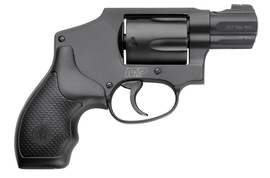 Smith & Wesson MP340 357 Magnum J-Frame Revolver with Night Sight ...