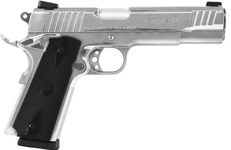 TAURUS PT-1911 45ACP POLISHED STAINLESS PISTOL