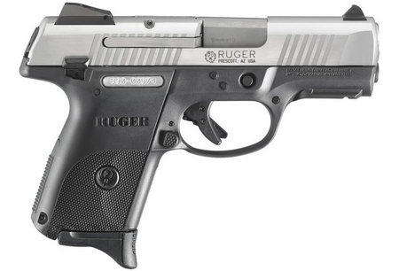 RUGER SR9C COMPACT 9MM STAINLESS WITH 3 MAGS