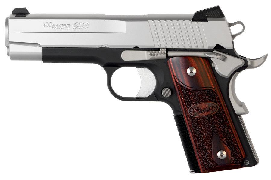 Sig Sauer 1911 C3 Compact 45acp Centerfire Pistol Le