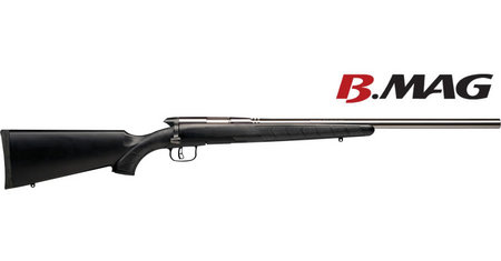 SAVAGE B.MAG 17 WSM WITH STAINLESS HEAVY BARREL
