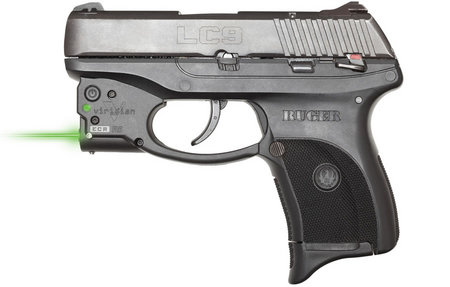 RUGER LC9 9MM WITH VIRIDIAN GREEN LASER