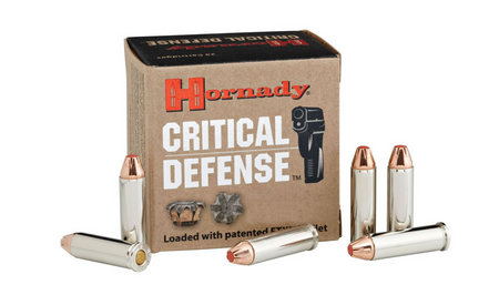 HORNADY 38 SPECIAL 110 GR FTX CRITICAL DEFENSE 25/BOX