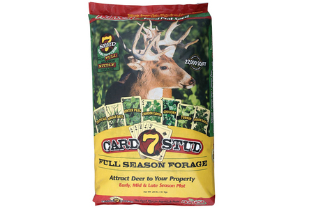 7 CARD STUD FOOD PLOT SEED