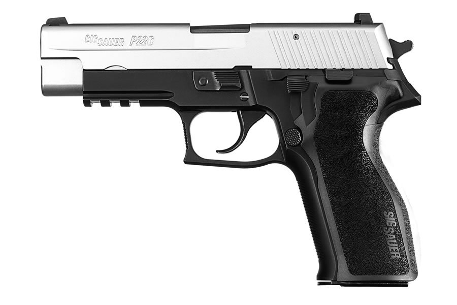 P226R 9MM 2-TONE WITH 3 MAGS (LE)