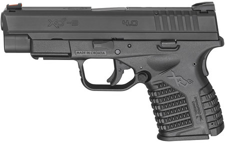 XDS 4.0 SINGLE STACK 9MM BLACK