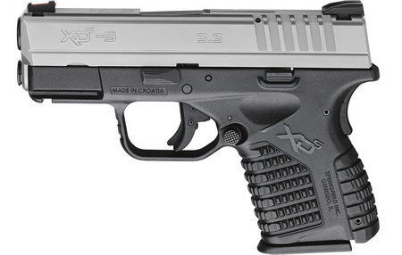 SPRINGFIELD XDS 3.3 SINGLE STACK 9MM BI-TONE