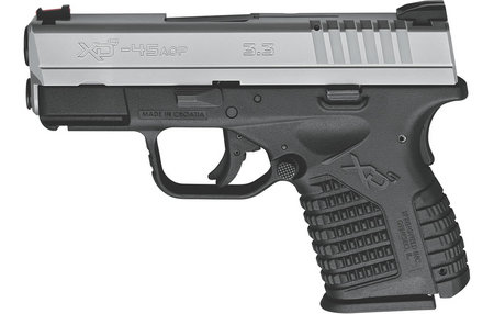 SPRINGFIELD XDS 3.3 SINGLE STACK 45ACP BI-TONE