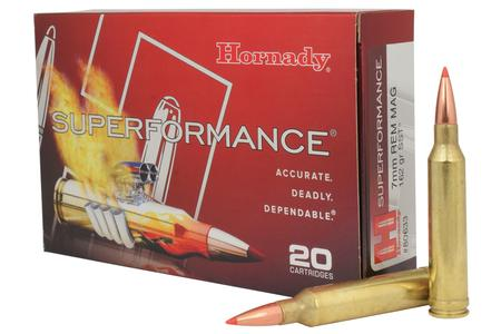 HORNADY 7mm Rem Mag 162 gr SST Superformance 20/Box
