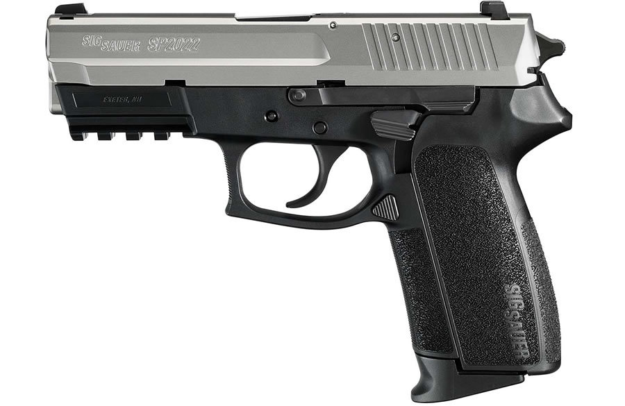 Sig Sauer Sp2022 9mm 2 Tone Pistol With Night Sights