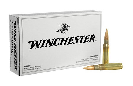 WINCHESTER AMMO 7.62X51MM 147 GR FMJ STEEL JACKET 20/BOX