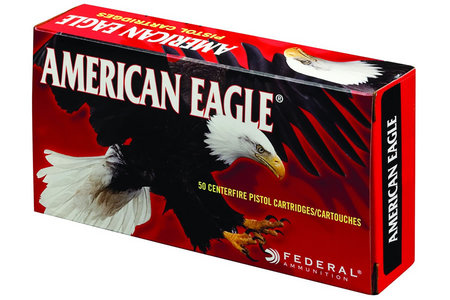 FEDERAL AMMUNITION 40 SW 165 GR FMJ AMERICAN EAGLE 50/BOX
