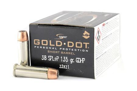 Speer Self Defense 38 Special Ammunition for Sale