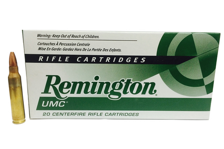 REMINGTON AMMO UMC 223 REM 50 GR FMJ SILVER CASE 200 ROUNDS