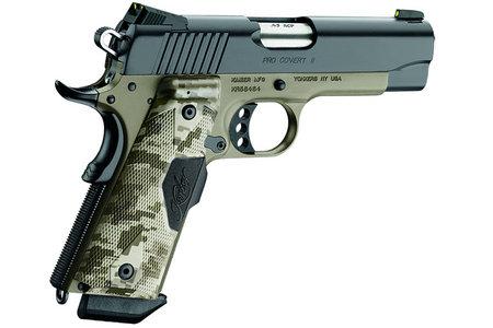 Kimber Pro Covert II 45 ACP 1911 Pistol with Dark Earth Camo Finish