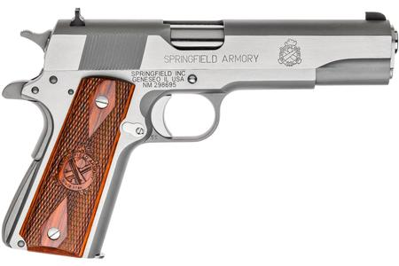 SPRINGFIELD 1911-A1 MIL-SPEC 45ACP STAINLESS STEEL