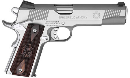SPRINGFIELD 1911-A1 LOADED 45ACP FULL-SIZE STAINLESS