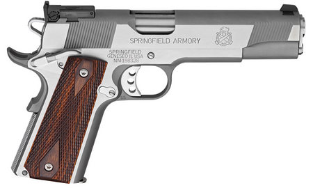 SPRINGFIELD 1911-A1 LOADED TARGET 45ACP STAINLESS