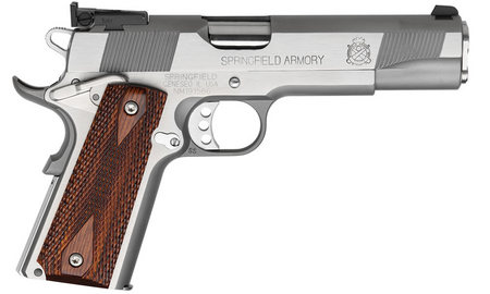 SPRINGFIELD 1911-A1 LOADED TARGET STAINLESS 9MM