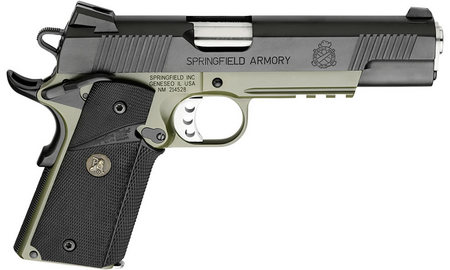 SPRINGFIELD 1911-A1 .45 LOADED MC OPERATOR OD GREEN