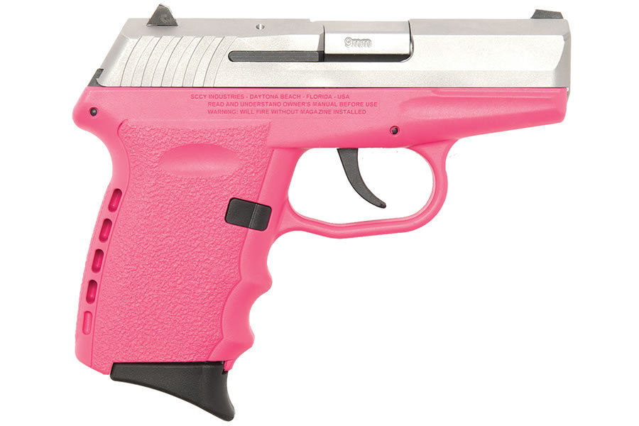 CPX-2 9MM PINK STAINLESS PISTOL