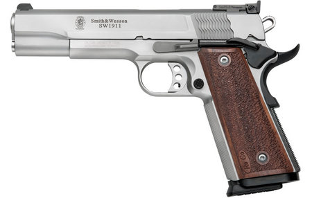 SMITH AND WESSON SW1911 9MM STAINLESS PISTOL