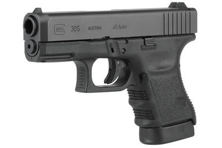 GLOCK 30S 45 AUTO 10 RD FIXED SIGHTS