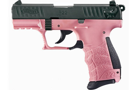 Walther P22 22LR with Pink Frame