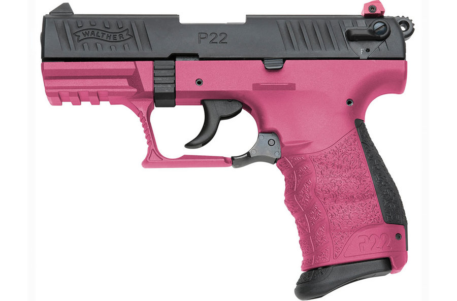 P22 22LR WITH WILDBERRY FRAME