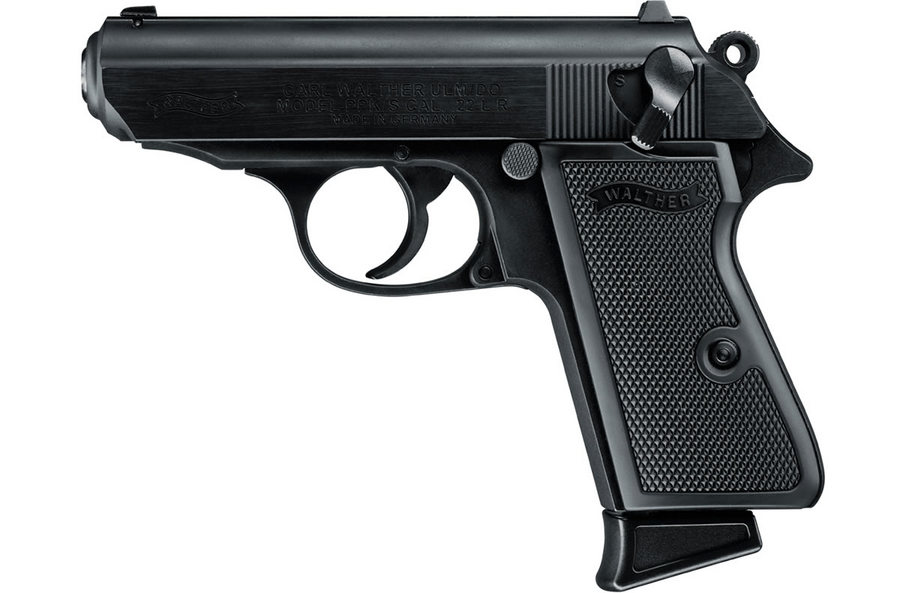 walther ppk s 22lr black 3 35 inch barrel sportsman s outdoor rh sportsmansoutdoorsuperstore com Walther PPK 32 ACP Pistol Walther PPK 32 Auto Review