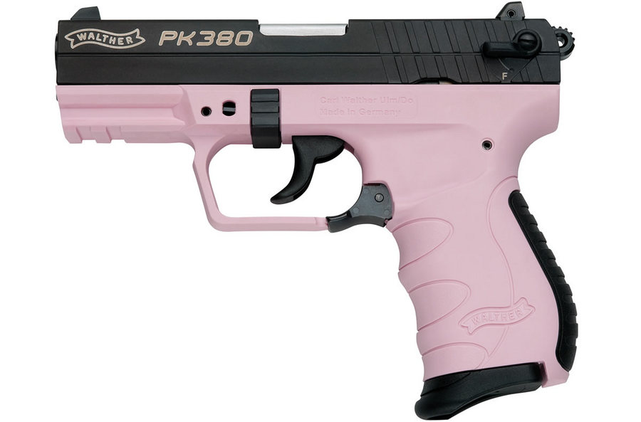 WALTHER PK380 380ACP WITH PINK FRAME | Sportsman\'s Outdoor Superstore