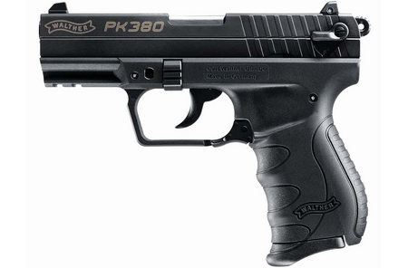 WALTHER PK380 380ACP WITH BLACK FRAME