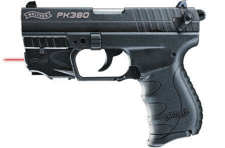 WALTHER PK380 380ACP WITH RED LASER SIGHT