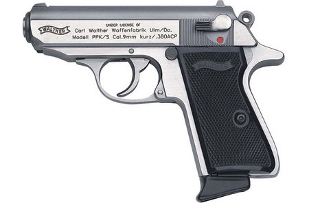 WALTHER PPK/S 380ACP STAINLESS STEEL PISTOL