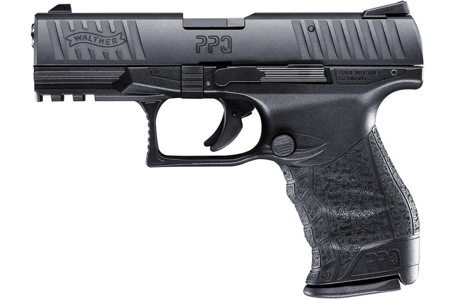 PPQ M2 22LR Black Rimfire Pistol with 4-inch Barrel