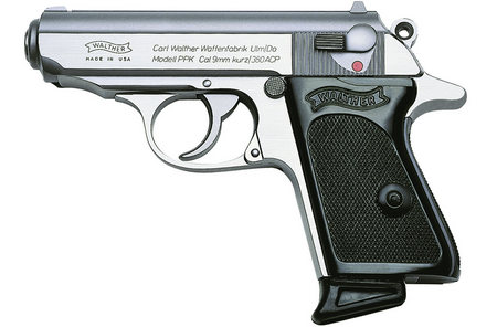 WALTHER PPK 380ACP STAINLESS STEEL PISTOL