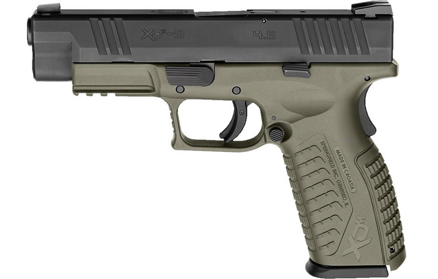 Springfield XDM 9mm 4.5 Full-Size OD Green | Sportsman's Outdoor ...