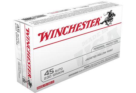 WINCHESTER AMMO 45 AUTO 230 GR JHP 50/BOX