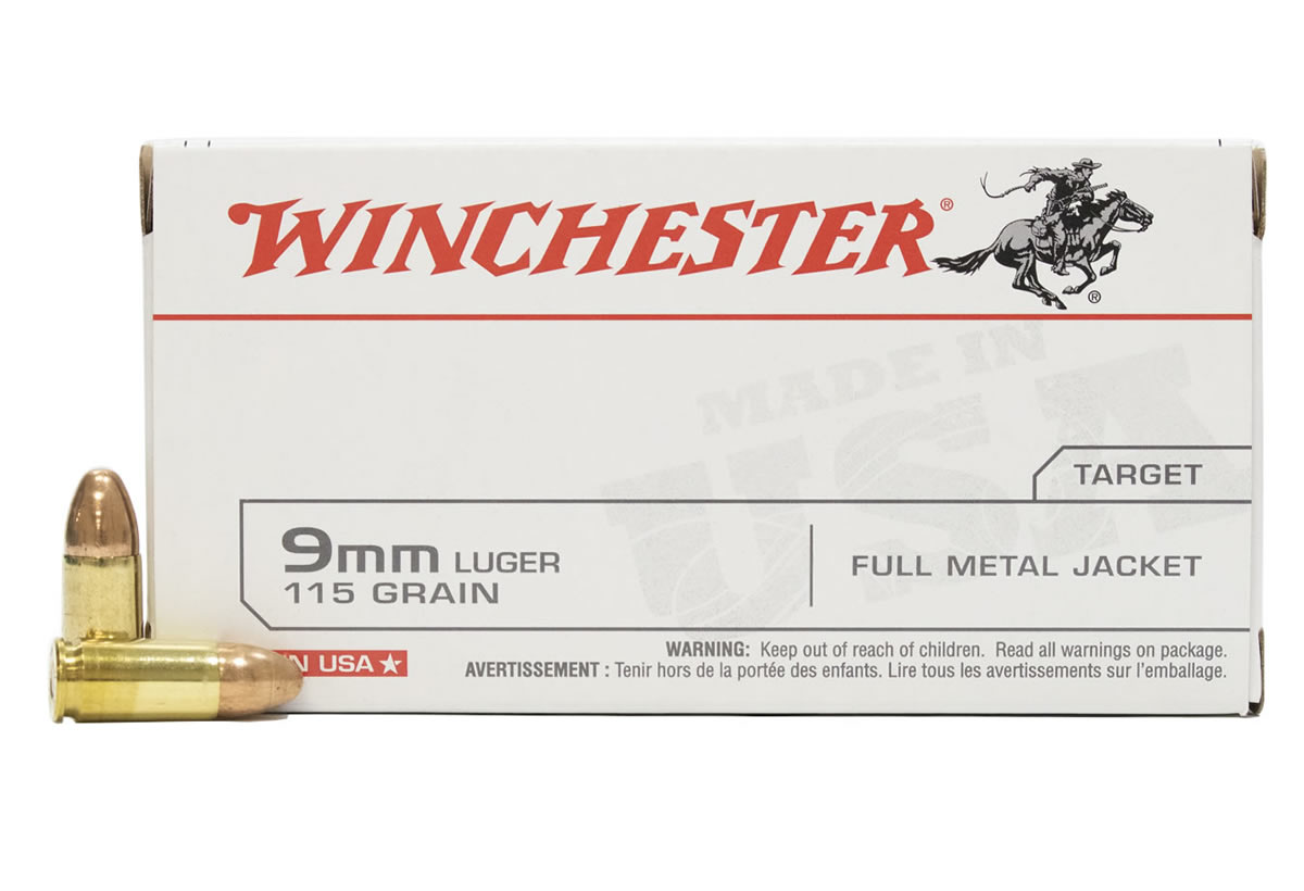 Winchester 9mm Luger 115 Gr Fmj 50box Sportsmans Outdoor Superstore