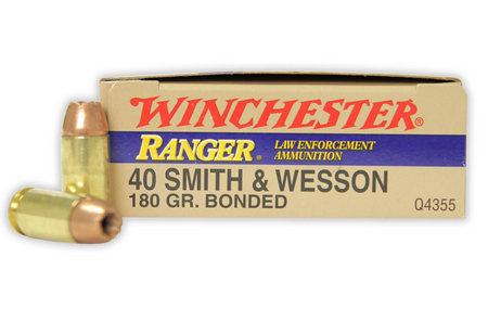 WINCHESTER AMMO 40SW 180 GR RANGER BONDED POLICE TRADE 50/BOX