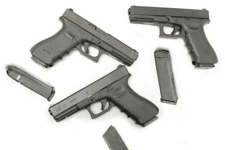 22 40SW POLICE TRADES WITH 2 MAGS (GEN3)