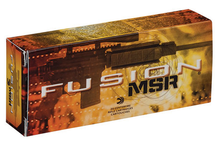 FEDERAL AMMUNITION 308 WIN 150 GR FUSION MSR 20/BOX