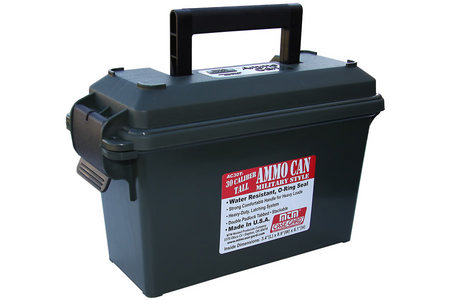 MTM AMMO CAN 30 CALIBER - TALL