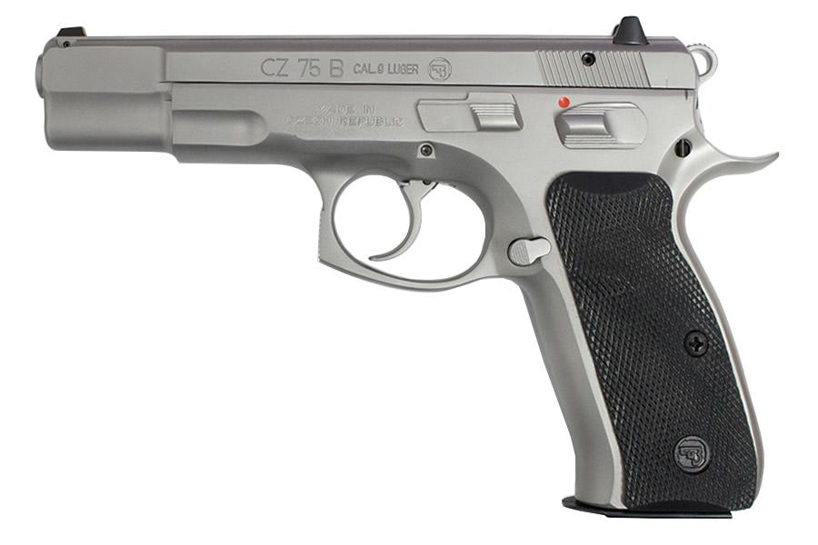 Cz 75 B 9mm Matte Stainless Pistol Vance Outdoors