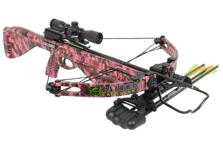 CHALLENGER MR CROSSBOW PACKAGE PINK CAMO