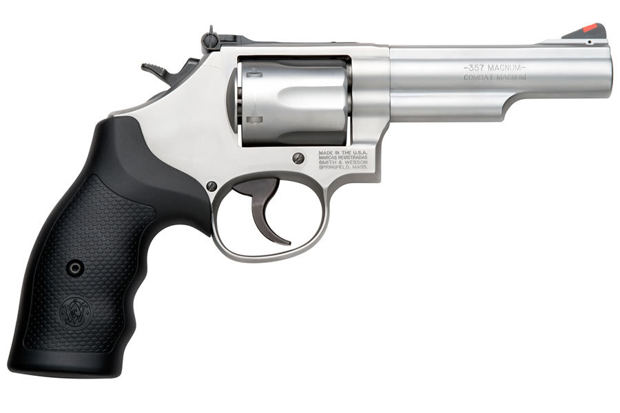 66 .357MAG STAINLESS REVOLVER (LE)