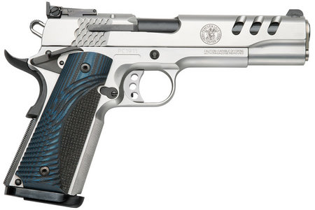 SMITH AND WESSON SW1911 45ACP STAINLESS WITH PORTS
