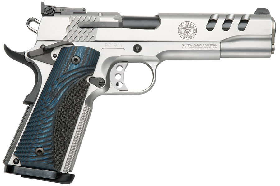 SW1911 45ACP STAINLESS WITH PORTS